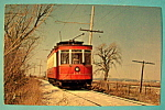 Click here to enlarge image and see more about item 10500: Chicago Surface Lines Streetcar #144 Postcard