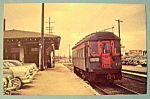Chicago North Shore & Milwaukee 420 Postcard