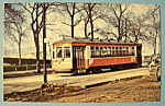 Chicago Surface Lines 3311 Car Postcard