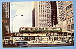 Chicago Transit Authority 4000 Series E Train Postcard