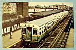 Click to view larger image of Chicago Transit Authority 6000 Series E Train Postcard (Image1)