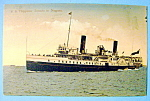 Click to view larger image of S.S. Chippewa Ship Postcard (Image1)