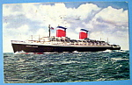 S. S. United States Ship Postcard