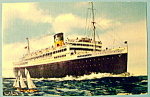 Click to view larger image of Moore-McCormack Liners Postcard (Image1)