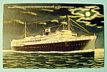 Click to view larger image of Mallory Liner Postcard (Image1)