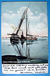 Click to view larger image of Wreck at Willard Beach Postcard (Image1)
