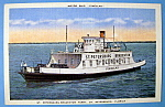 Pinellas Motor Ship Postcard