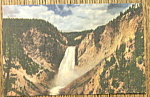 The Great Falls Postcard (Yellowstone National Park)