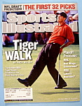 Click to view larger image of Sports Illustrated Magazine-April 22, 2002-Tiger Woods (Image1)