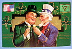 Click here to enlarge image and see more about item 10824: Luck of the Irish Postcard