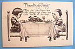 Click here to enlarge image and see more about item 10860: Thanksgiving Postcard