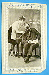 Click here to enlarge image and see more about item 10892: I Like To Be Tickled Postcard