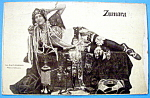 Click here to enlarge image and see more about item 10894: Zumara Postcard