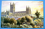 Click to view larger image of Canterbury Cathedral Postcard (Image1)
