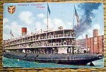 Click to view larger image of Whaleback Columbus, Chicago Postcard (Image1)