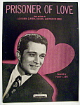 Sheet Music For 1931 Prisoner Of Love