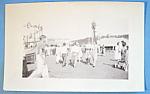 Click here to enlarge image and see more about item 11012: Photograph Of Carnival Scene with Assortment of Rides