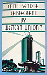 Click here to enlarge image and see more about item 11043: Western Union Brochure (Chicago World's Fair)
