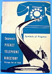 Click here to enlarge image and see more about item 11044: 1950 Chicago Fair, Pocket Telephone Directory