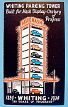 1933 Century Of Progress, Whiting Parking Brochure