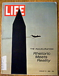 Click to view larger image of Life Magazine - January 31, 1969  - Inauguration (Image1)