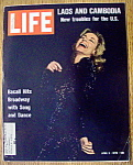 Click to view larger image of Life Magazine - April 3, 1970  - Lauren Bacall (Image1)