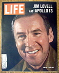 Click to view larger image of Life Magazine-April 24, 1970-Jim Lovell & Apollo 13 (Image1)