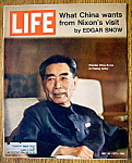 Life Magazine - July 30, 1971  - Chou En-Lai