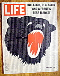 Click to view larger image of Life Magazine-June 5, 1970-Bear Market (Image1)