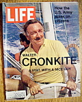 Click to view larger image of Life Magazine-March 26, 1971-Walter Cronkite (Image1)