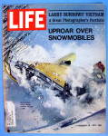 Life Magazine-February 26, 1971-Uproar Over Snowmobiles