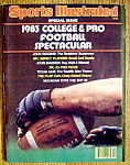 Sports Illustrated Magazine-September 1, 1983-Football