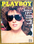 Click to view larger image of Playboy Magazine-November 1987-Jessica Hahn (Image1)