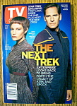 TV Guide-August 25-31, 2001-S. Bakula/J. Blalock