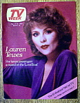 Click to view larger image of TV Week-August 24-30, 1980-Lauren Tewes (Image1)