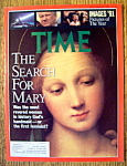 Click to view larger image of Time Magazine-December 30, 1991-Search For Mary (Image1)