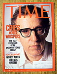 Time Magazine-August 31, 1992-Woody Allen