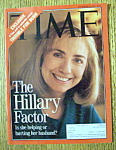 Time Magazine-September 14, 1992-Hillary Clinton