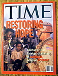 Click to view larger image of Time Magazine-December 21, 1992-Restoring Hope (Image1)