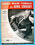 Sheet Music For 1932 Songs Made Famous By Bing Crosby