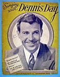 Click to view larger image of Sheet Music For 1943 Singing With Dennis Day (Image1)