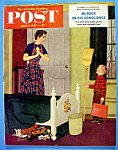 Click to view larger image of Saturday Evening Post Magazine-April 2, 1955-D. Sargent (Image1)
