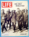 Life Magazine-March 13, 1964-First World War