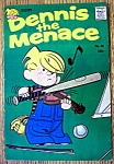 Dennis The Menace Comic #46-October 1960-Music Maker