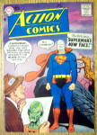 Click here to enlarge image and see more about item 12566: Action Comics Cover-April 1958-Superman Cover