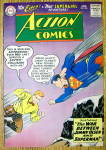 Click here to enlarge image and see more about item 12569: Action Comics Cover-June 1959-Superman Cover