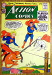 Click here to enlarge image and see more about item 12572: Action Comics Cover-June 1961-Superman Cover