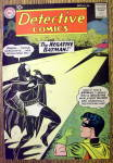 Click here to enlarge image and see more about item 12590: Detective Comics Cover-October 1960-Batman Cover