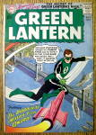 Click here to enlarge image and see more about item 12593: Green Lantern Comic Cover-February 1960-Green Lantern