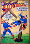Superman Comic Cover-Jan.1959-Super Outlaw From Krypton